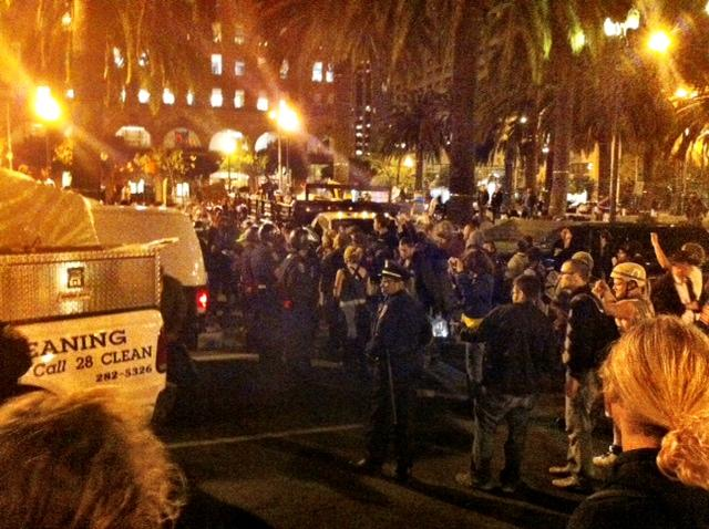 Occupy SF: Chron, Ex set the eviction stage