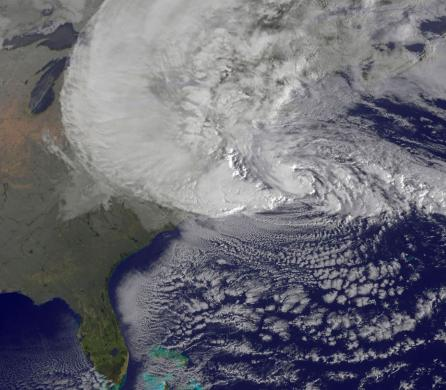 Hurricane Sandy and climate change