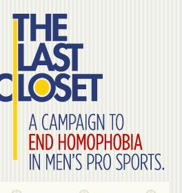Out of the last closet