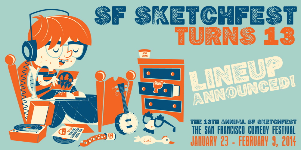 SF Sketchfest posted its schedule today! (Spoiler: it's awesome)