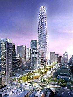 Manhattanization forgotten, Transbay Tower moves without the trains
