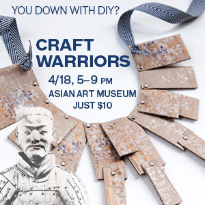 Promo: Craft Warriors at the Asian Art Museum