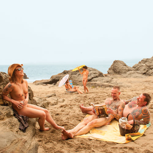 Nude Beaches Guide 2011