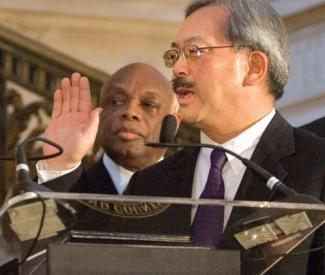 Brown says Lee shouldn't have taken Mirkarimi's pay away