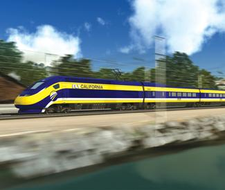 Gov. Brown backs high-speed rail and other big ideas
