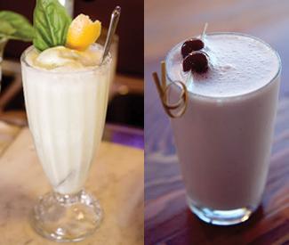Boozy shakes