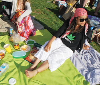 Red-eyed trends: 420 fashion at Dolores Park