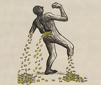 Wealth vs. work