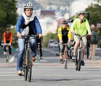 Bike hot spots
