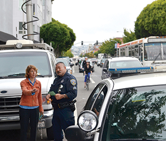 Memorial for cyclist marred by SFPD harassment