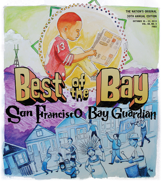 2013 BEST OF THE BAY