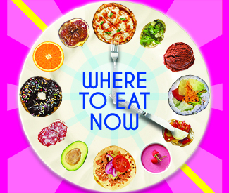 Where to eat right now