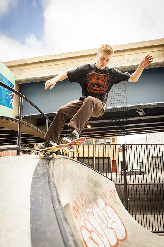 Photo Gallery: Skaters love new SoMa West park