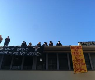 Occupy retakes Catholic Church building