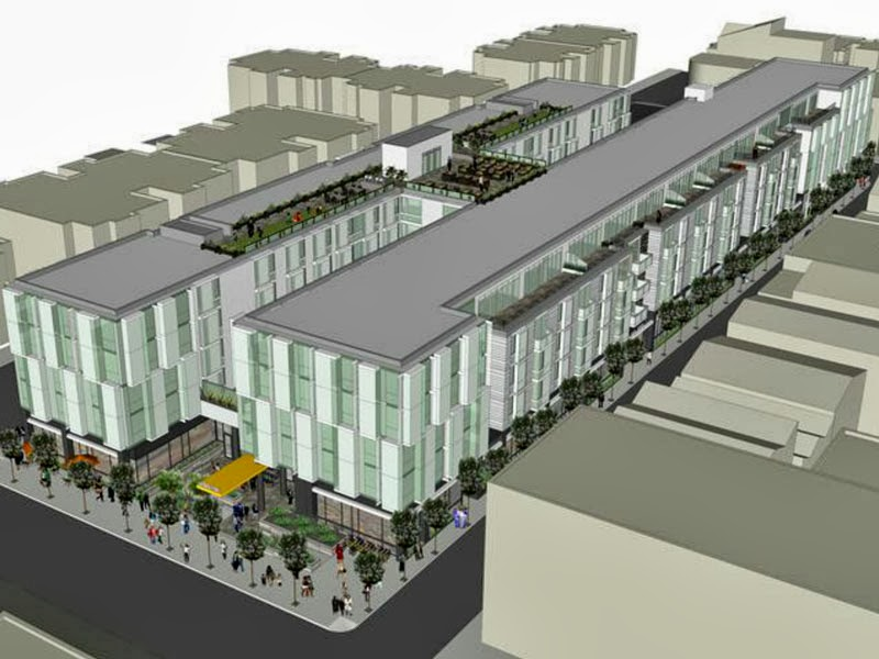 Chain store ban and affordable groceries at issue in 555 Fulton debate UPDATED
