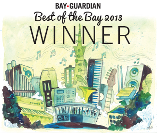Best of the Bay 2013: BEST PLACE TO PARK YOUR CARD