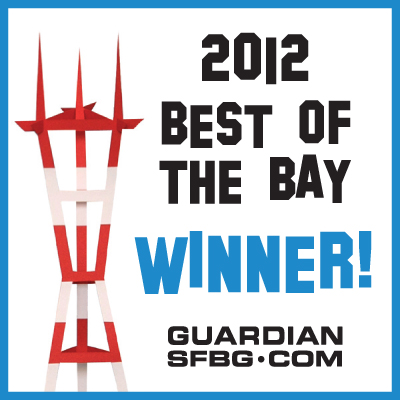 Best of the Bay 2012: BEST ESOTERIC GUIDEBOOK