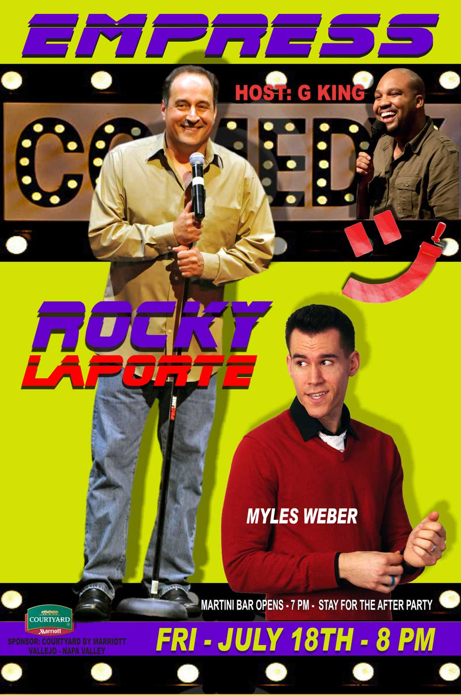 Win Free Tickets to Empress Theatre's Comedy Night with Rocky LaPorte!
