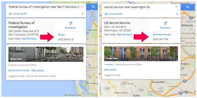 Hacker pranks San Francisco FBI using Google Maps exploit