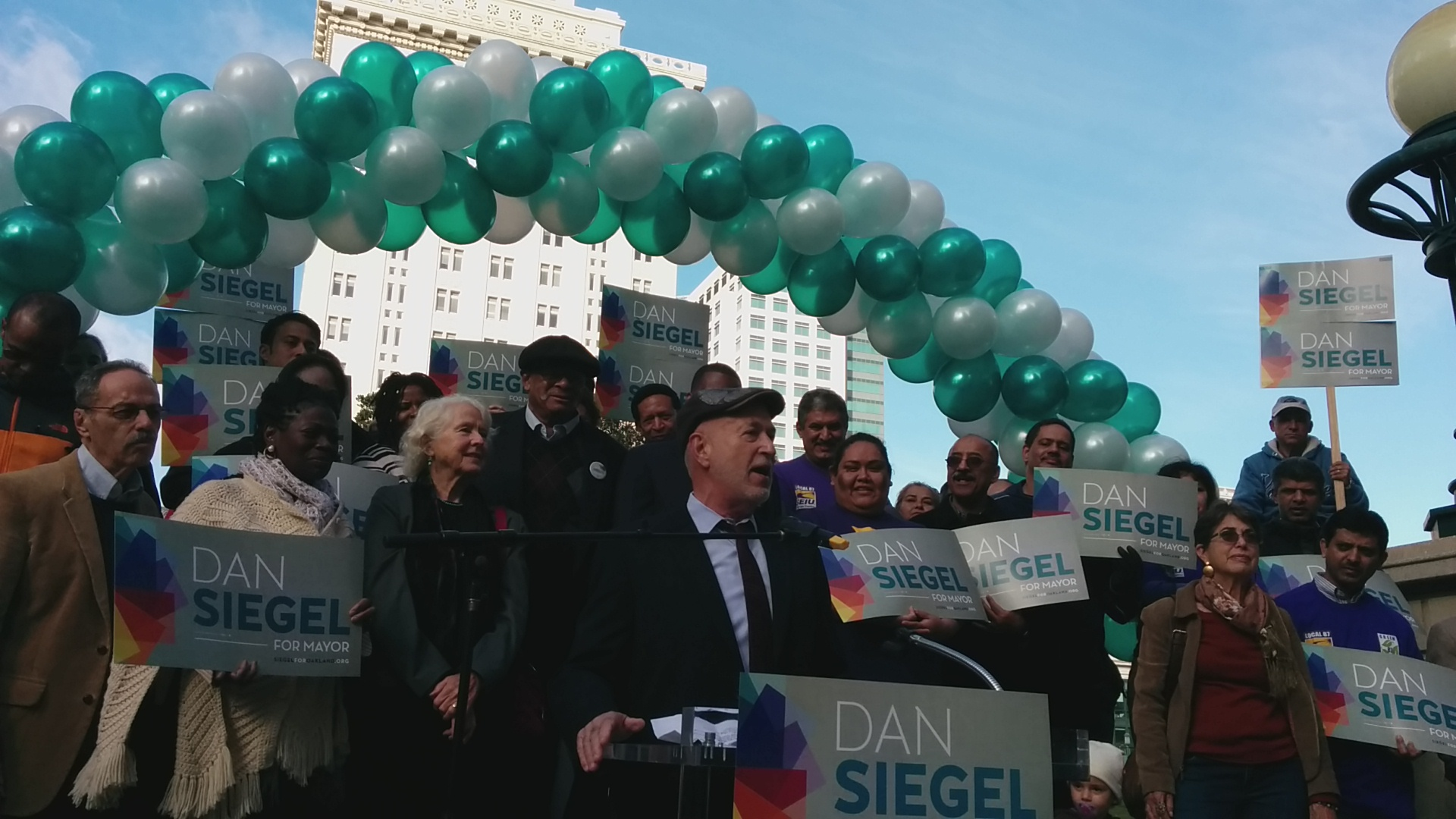 Dan Siegel announces candidacy for Oakland mayor