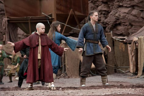 "Sibling rivalry with the stars of ""The Last Airbender"""