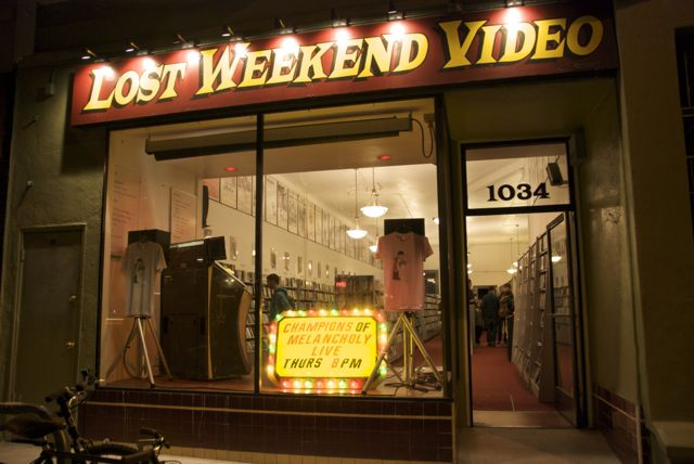 Save Lost Weekend Video! An update on the Valencia Street stalwart's struggle for survival