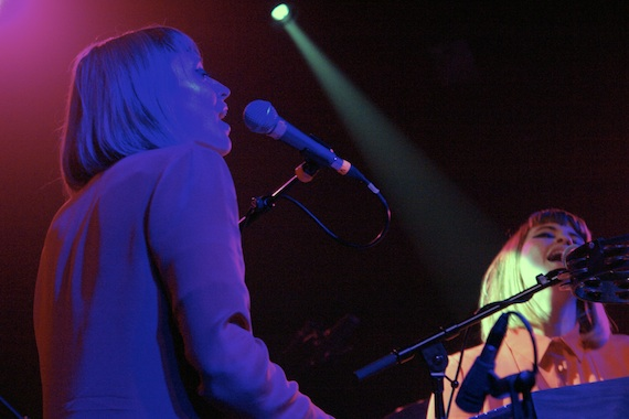 Live Shots: Lucius sells out the Independent on a rainy Friday