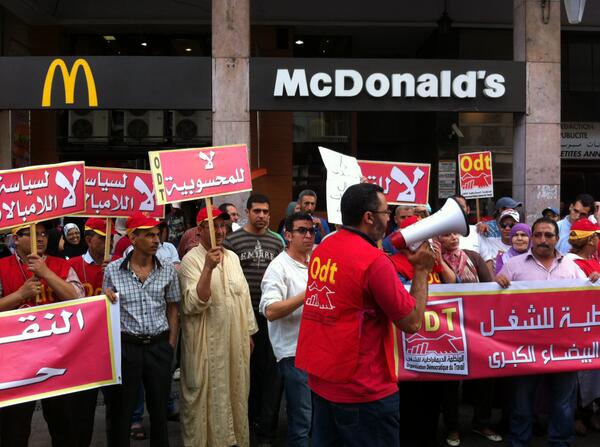 Photos: Oakland fast food workers join strike with #FastFoodGlobal movement