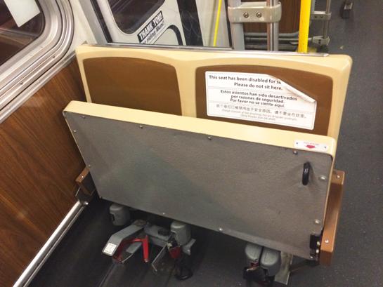 Muni permanently locks up front facing seats, fearing lawsuits