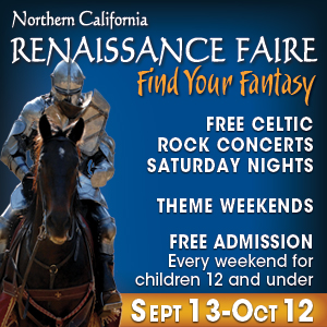 Travel Back to a Time of Merriment and Mirth at the Northern California Renaissance Faire