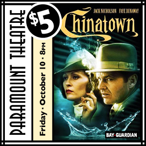 Win tickets to Chinatown at Paramount Theatre October 10