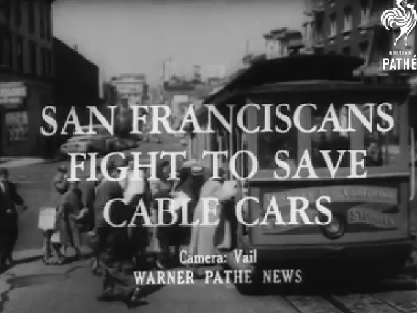 Big batch of SF archival films new on YouTube, featuring 'Hello Girls' of Chinatown, bay swimming 'Frog Man', city-stopping strikes, and more!