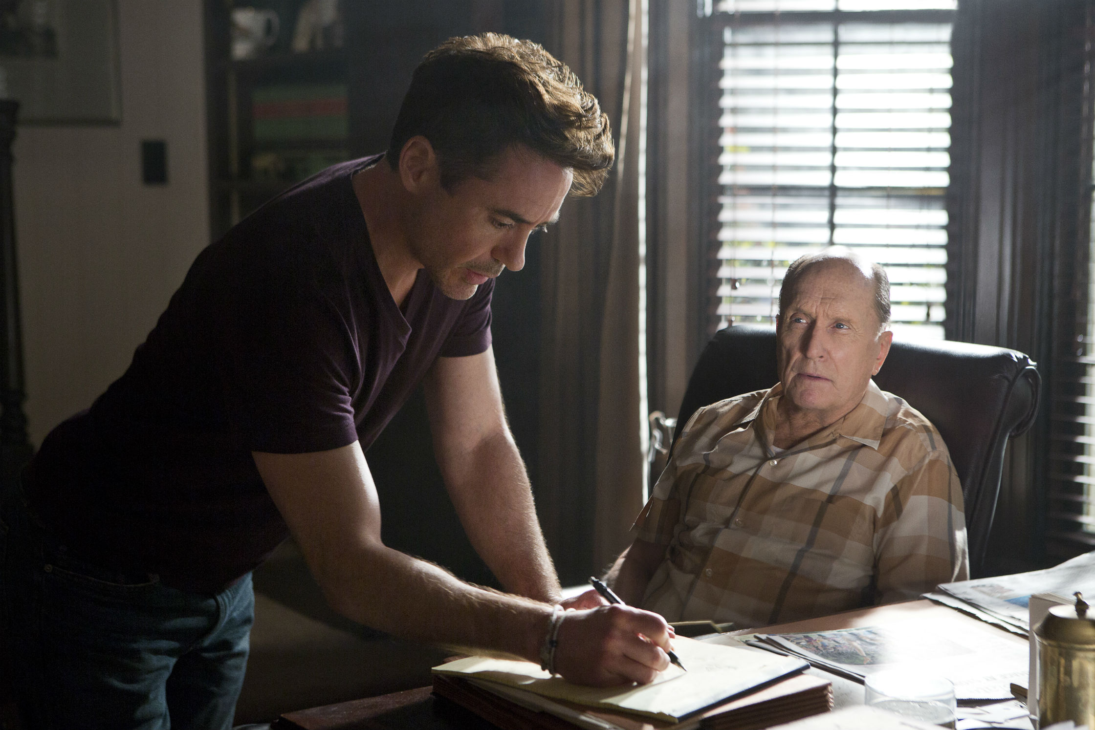 """All our families are f-ed up:"" Director David Dobkin on his Duvall vs. Downey drama 'The Judge'"