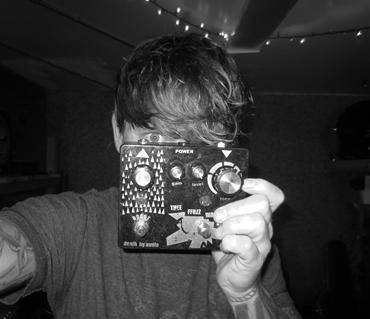 John Dwyer's Thee Fuzz Warr Overload pedal