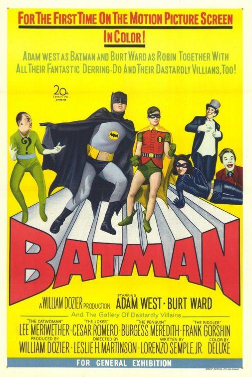 Holy surf party, Batman!