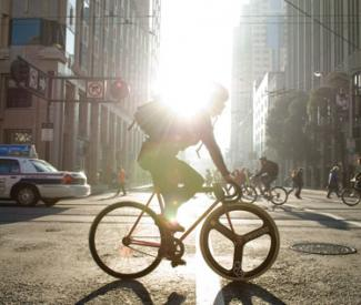 How watching paint dry could help San Francisco cyclists