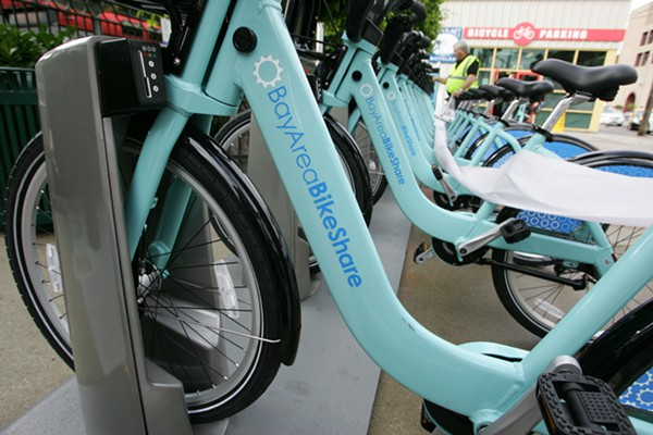 "Bike Share in SF is expanding, but ""never"" on the west side"