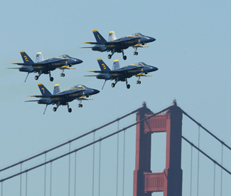 Blue Angels grounding is a victory for sanity, safety, and peace