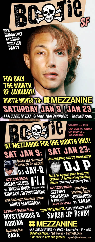 Party Radar: Bootie moves to Mezzanine this month