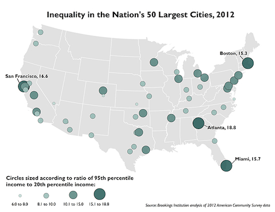 New study: San Francisco has second highest inequality in United States