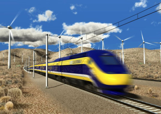 Is Newsom on the wrong side of high-speed rail history?