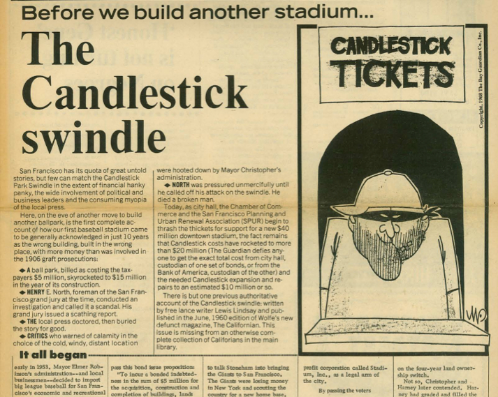 "A look back: The ""Candlestick Swindle"" in '68"