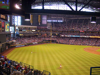 Take me out to the ball game (just not in Arizona)