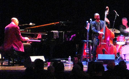 Chucho Valdés and the Afro-Cuban Messengers score a standing ovation at Herbst Theatre