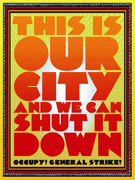 To be a poster artist during Occupy: Chuck Sperry on psychedelic art, social change, and port shutdowns