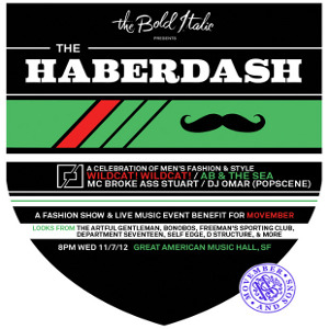 Win tickets to The Bold Italic Presents: The Haberdash