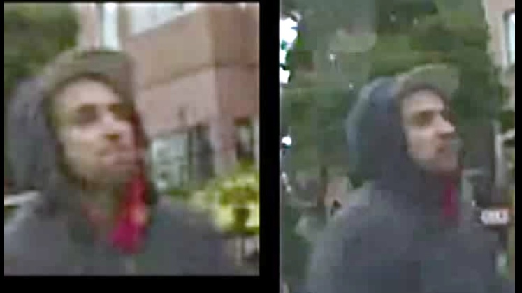 Video of suspect in Feather beating released