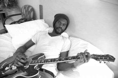 Blues guitarist Gary Clark Jr. solos as long as he damn well pleases