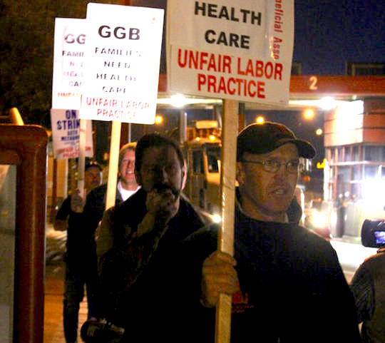 Golden Gate unions to strike this week, stall commutes