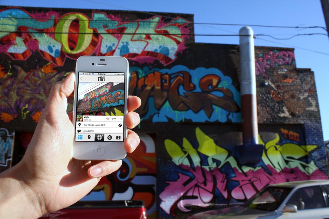 1AM Gallery's street art app debuts